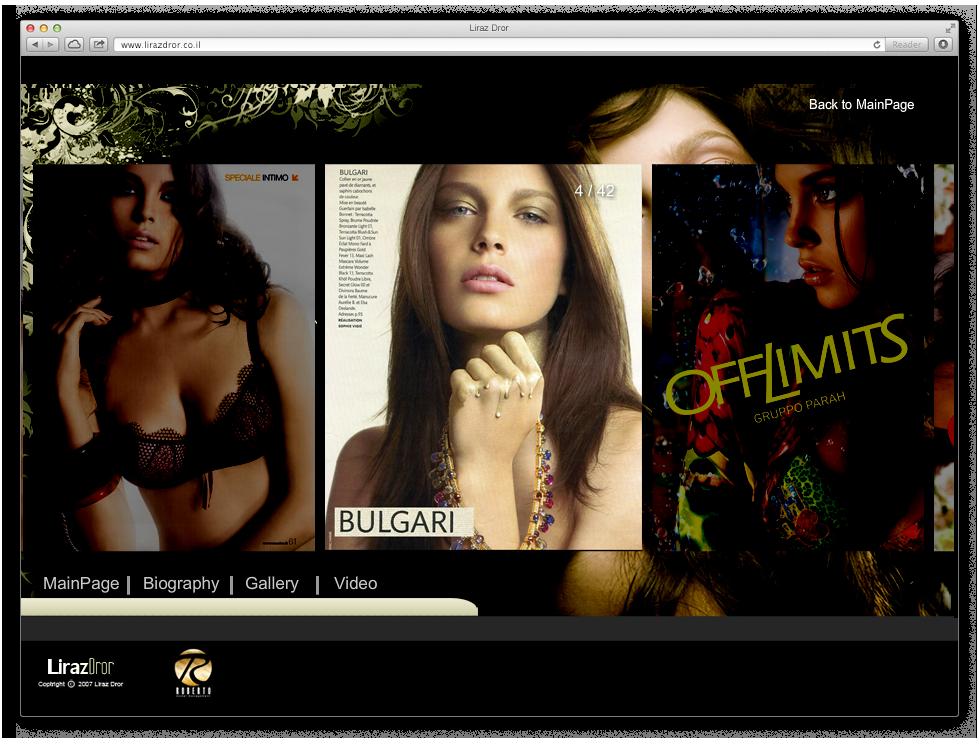 Liraz Dror Website