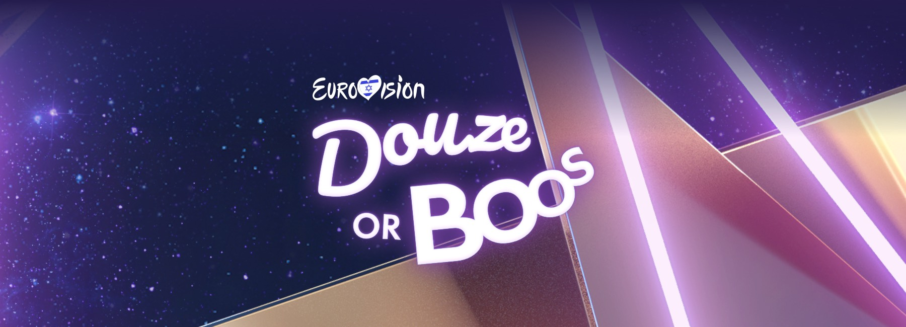 Douze or Boos unique Logo we have created,to distinguish him from all of other Eurovision Digital products graphic language.
