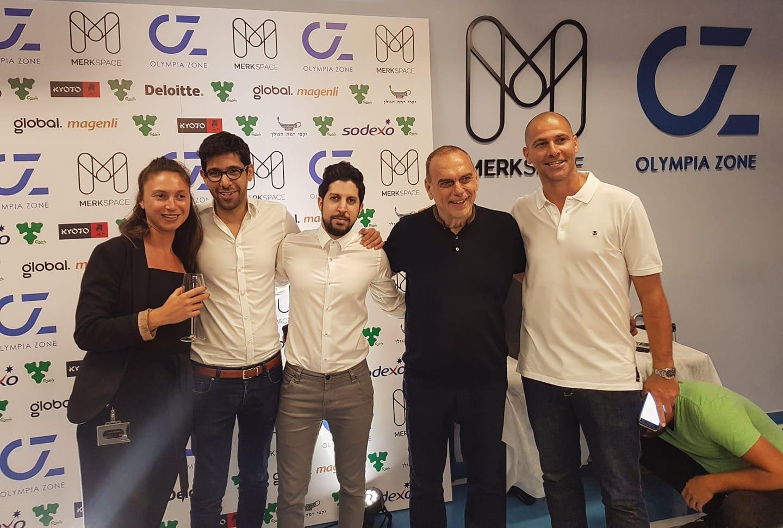 Avi Nimni, Abram Grant,Gil Rabbi and Steve Bar at the opening event