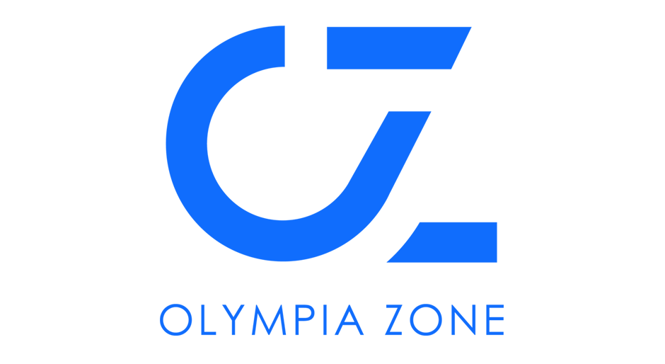 Logo and graphic language for the Olympia Zone Sports Innovation Center