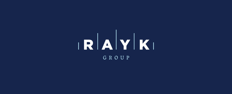 Rayk Group logo and graphic concept - representing the values of the company