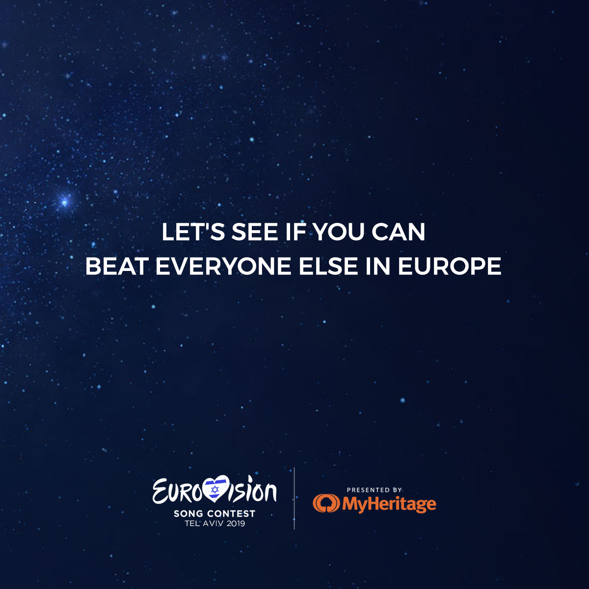 The promotional ads we created on Eurovision's official social networks