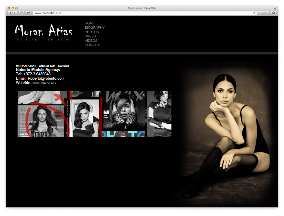 Moran Atias Website