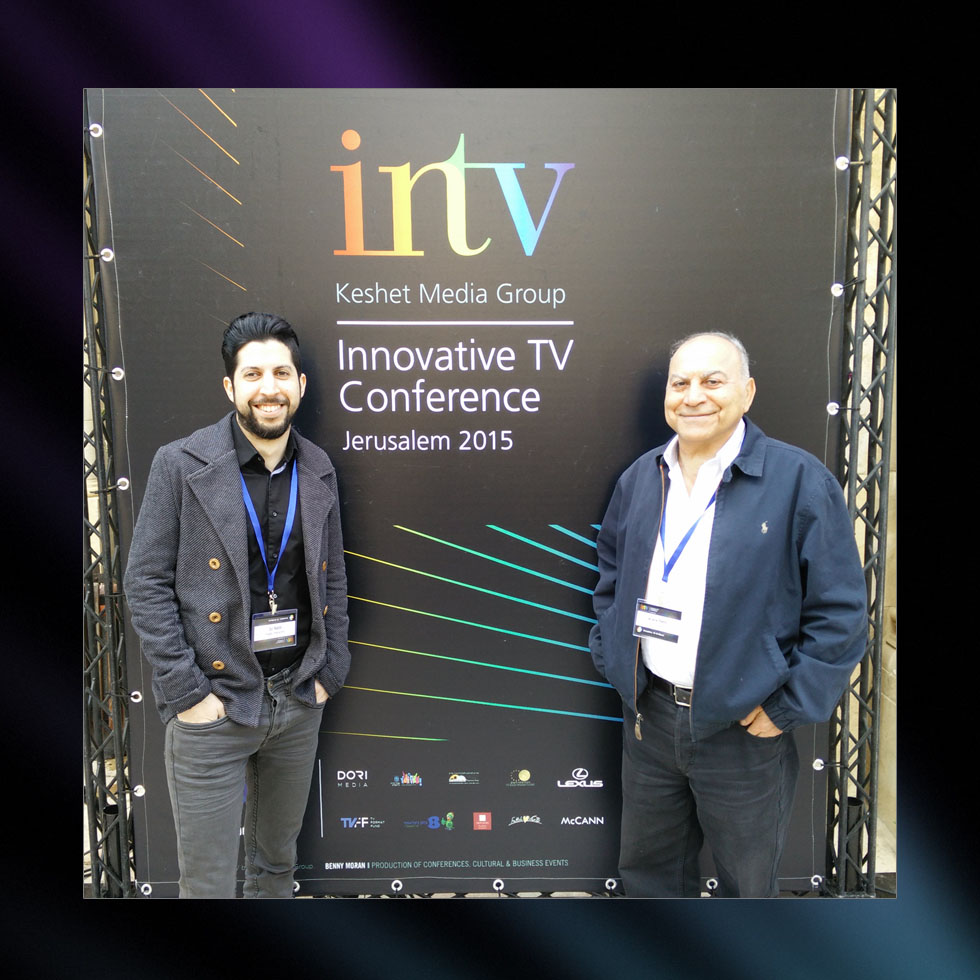 Gil Rabbi, CEO of Rabbi Interactive, at the INTV conference