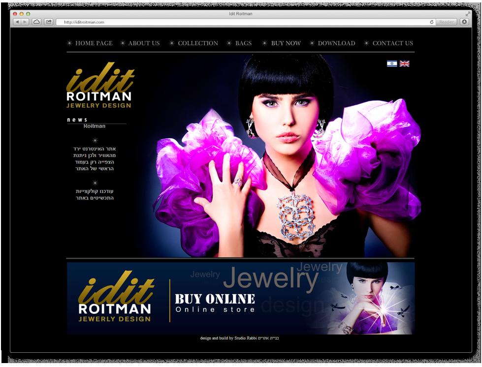 website desktop design