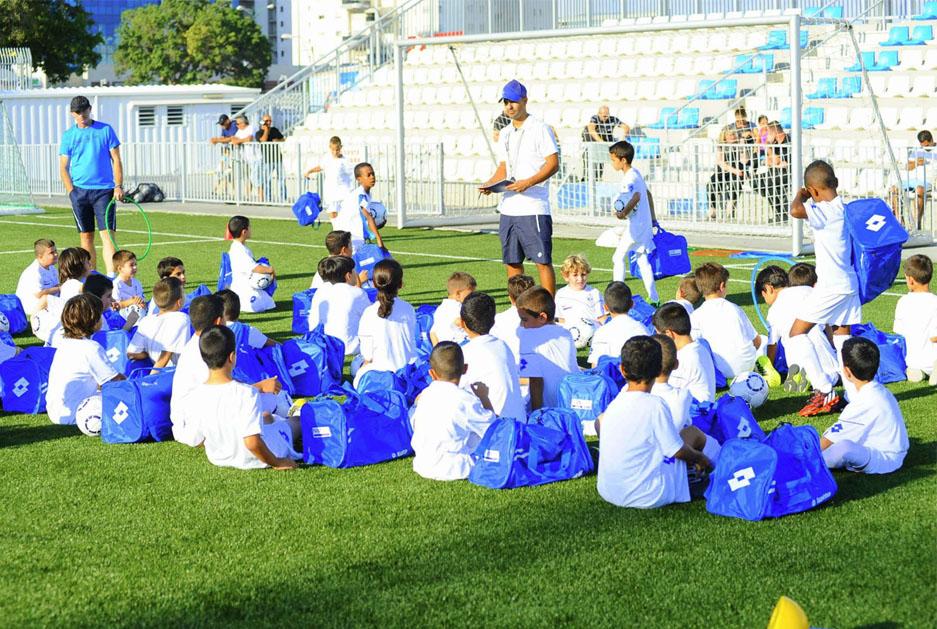 First practice, Avi Nimni`s soccer school