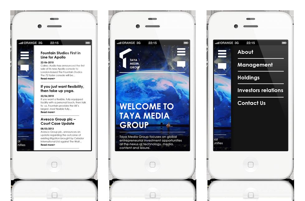 Dedicated mobile version design and development
